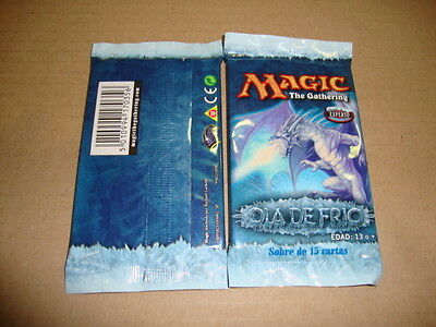 Ola De Frio Sobre De Magic The Gathering En Castellano Nuevo Precintado