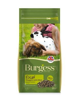 Burgess Excel Tasty Nuggets with Mint Adult Rabbit Food