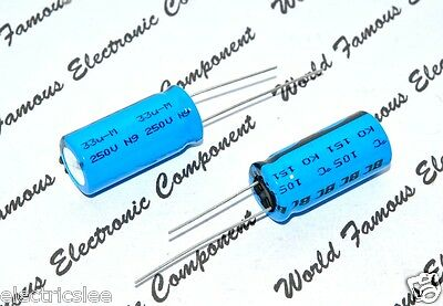 2pcs For For PHILIPS BC 820uF//25V 12.5*21mm Audio Electrolytic Capacitor 6286