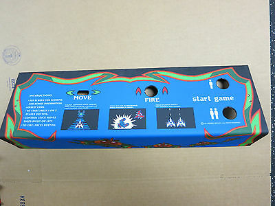 GALAGA Screen Printed CPO with New Metal Panel - WOW!