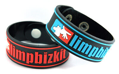 LIMP BIZKIT NEW! 2x Rubber Bracelet Wristband Free Shipping! ww38 Break Stuff
