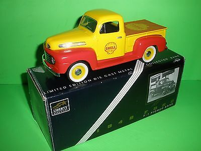 Shell Gas Gasoline Oil 1948 Ford F-1 Pick-Up Truck Liberty Classics Stock #68517