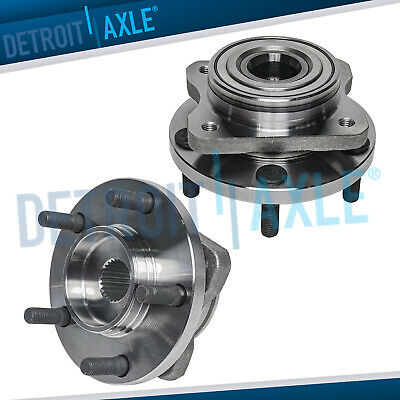 2 Front Wheel Bearing Hub for 1996-2007 Dodge Caravan Chrysler Town and Country