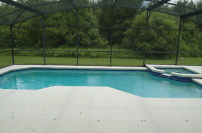 838 5 Bedroom vacation home near Disney with pool spa and conservation view 2014