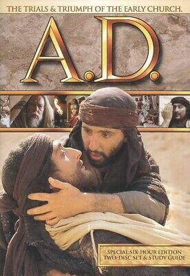 A.D. The Trials and Triumph of the Early Church 2 DVD set
