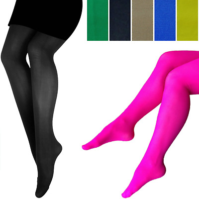 PANTYHOSE Tights Stockings Sexy Hosiery Womens Ladies Plain Colours New