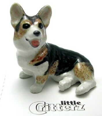 "Little Critterz - LC948 -  Corgi named ""Taffy"" (Buy 5 get 6th free!)"