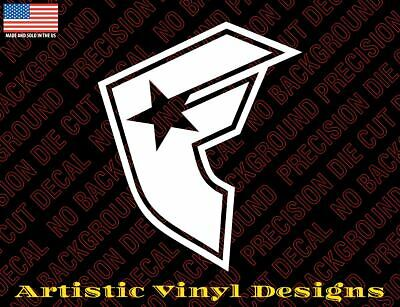 Qty 2 Famous stars straps vinyl decal sticker wall car laptop 0045