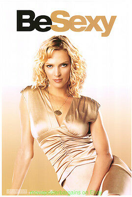 BE COOL MOVIE POSTER Original 27x40 BE SEXY UMA THURMAN ADVANCE STYLE