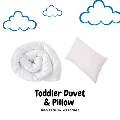 Non Allergenic Cot Bed & Cot Duvet & Cot Pillow All Sizes Junior Baby Bedding