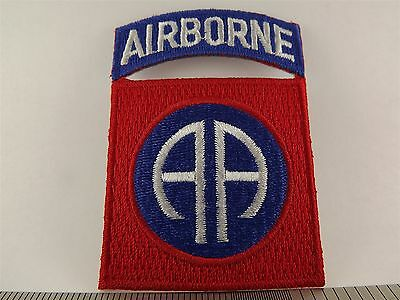 UNITED STATES ARMY 82nd Airborne Iron on Patch BRAND NEW