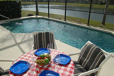 930 4 Bedroom vacation home in resort community with lake view near Disney FL