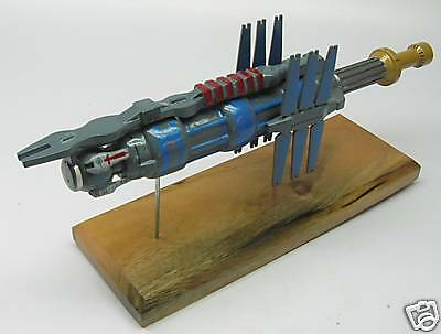 Space Station Earth Force Babylon-5 Spacecraft Wood Model Small New