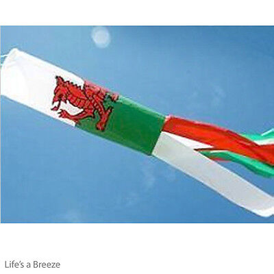 Welsh  Windsock Wales Windsock For Telescopic Flag Poles Camping Garden Windsoc