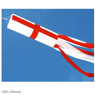 St George Windsock For Telescopic Flag Poles Camping  Windsock