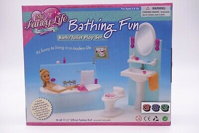 Gloria, Barbie Size Doll House Furniture /(2820)My Fancy Life Bathing Fun