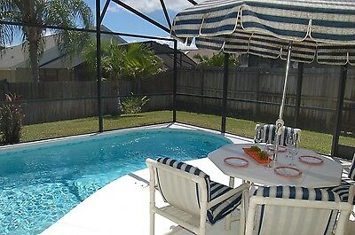 141 3 Bed vacation home with private fenced pool near Disney Orlando Florida