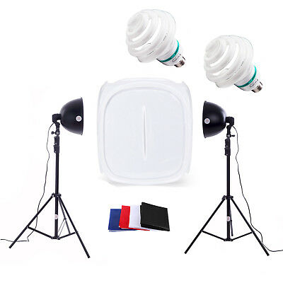 Photo Studio 60cm Light Tent Kit - Photography Soft Box Lighting Cube Shooting
