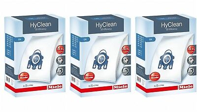 Miele GN HyClean 3D Efficiency Dustbags x 3 BOXES INCLUDED - RRP $86.70