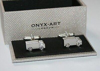 Novelty Mens Cufflinks - Lorry Truck Design *NEW* Boxed Gift