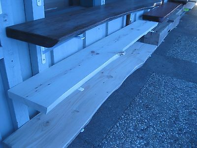 Salvaged Pine slab mantle - unfinished ONLY $220 FREE Shipping!