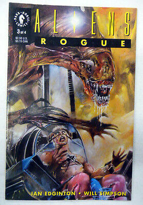aliens rogue 3 of 4 dark horse comics