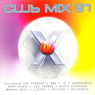 Club Mix 97 Cd - 2 X Cds Oldskool Ibiza Trance 90S House Cdj Dj Prodigy Chicane