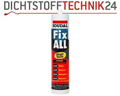 Soudal Fix All High Tack, Universalkleber, Kleber, Alleskleber 290ml Kartusche