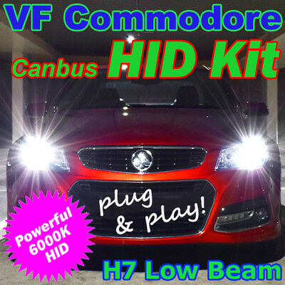 Plug-and-Play H7 6000K Low Beam HID Kit to suit Holden VF Commodore & HSV Gen-F