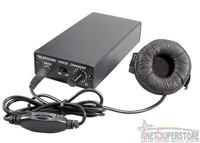 NEW Professional Portable Voice Changer  SPY Disguise Most Cell Telephones VC300
