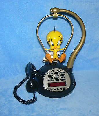 TWEETY BIRD AND SYLVESTER TELEPHONE PREOWNED