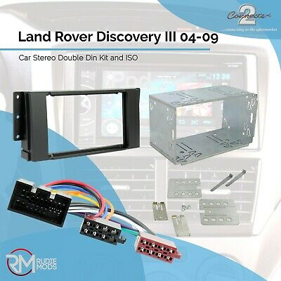 Land Rover Freelander2 06 on Car Stereo Double Din Kit and ISO adaptor