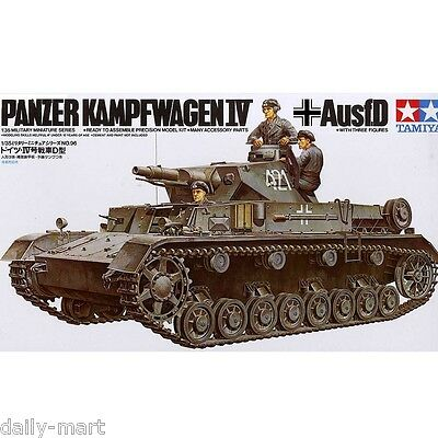 Tamiya 1/35 35096 German Pz.Kpfw.IV Ausf.D Tank Model Kit