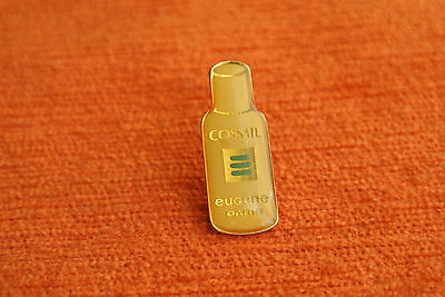 03202 Pin's Pins Parfum Cosmetique Eugene Perma France Paris Cosmil