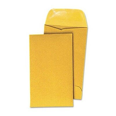 """100 GUMMED KRAFT COIN JEWELRY SMALL PARTS SMALL ENVELOPE 2-1/2"""" x 4-1/4"""""""