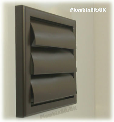 BATHROOM KITCHEN EXTRACTOR Fan Wall Grille 4\
