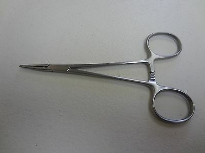 """3 Micro Mosquito Hemostat Forceps Straight Fine Point 5"""" Surgical Instruments"""