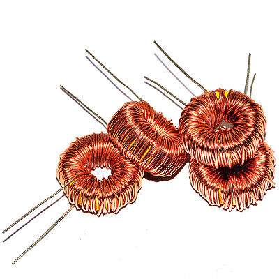 10pcs Toroidal Inductor 3A 6A Toroid Core coil wire wrap Inductor for LM2596