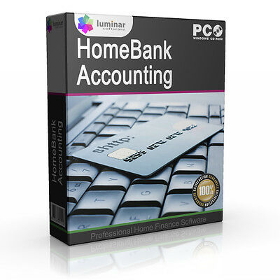 Home Bank Money Accounting Finance for MS PC Software Application Program