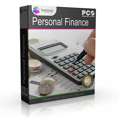 Personal Finance Management Tax Accounting New Software Program
