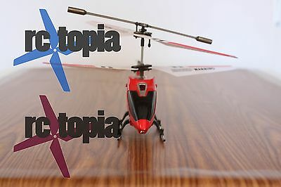 Syma S107/S107G 3-Channel Mini Remote Control RC Helicopter Gyro Genuine RED USA