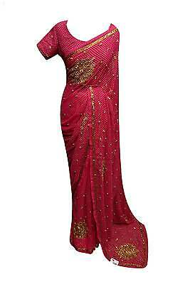 Indian Bollywood stylish exclusive sarees wedding party wear sari London 5020 UK