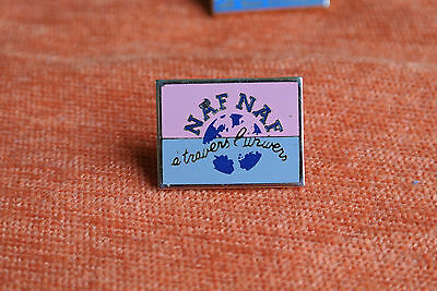 03374 Pin's Pins Mode Naf Naf Paris France Parfum A Travers Univers Fashion