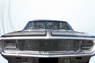 1969 69 Chevy Camaro RS Aluminum Billet Grille Grill Insert