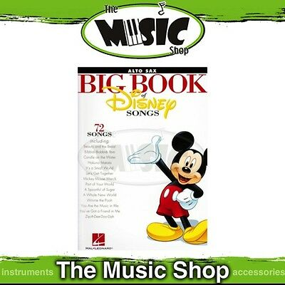New The Big Book of Disney Songs for Alto Sax Music Book - Saxophone