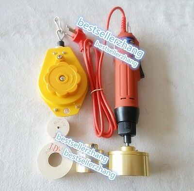 Electric Hand Held Bottle Capping Machine locking screw capping