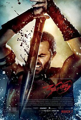 300 RISE OF AN EMPIRE MOVIE POSTER 2 Sided ORIGINAL FINAL 27x40 EVA GREEN