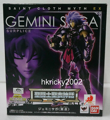 Bandai Saint Cloth Myth EX Surplice Gemini Saga Action Figure