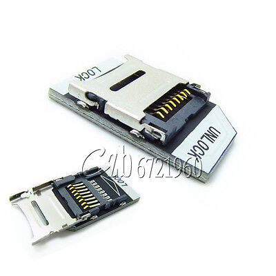 5PCS New T-flash TF Transfer To Micro SD Card Adapter Module For Raspberry Pi