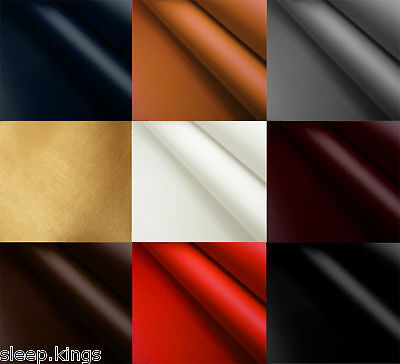 Faux Leather Vinyl Upholstery Fabric Leatherette Fire Retardant Material 1 Metre
